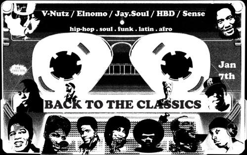 flyer back to the classics 7 january 2011