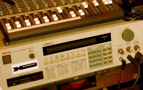 Jay.Soul home studio: classic AKAI s950 sampler